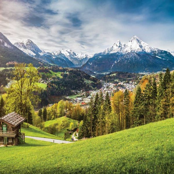Herfstlandschap Beierse Alpen